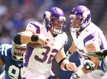 After three fumbles against the San Francisco 49ers, Toby Gerhart is on high-alert.