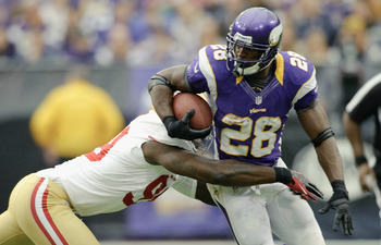 Adrian Peterson has proven himself healthy through three games.