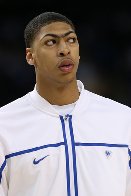 Yes Anthony Davis, we are all looking at your unibrow