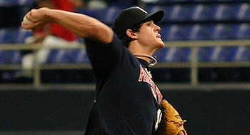 RHP Dylan Howard (CLE) // Courtesy of PerfectGame.org