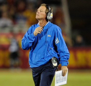 UCLA head coach Rick Neuheisel