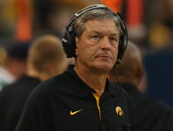 How are things, Kirk Ferentz?