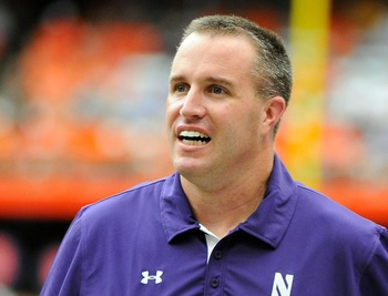 How are things, Pat Fitzgerald?