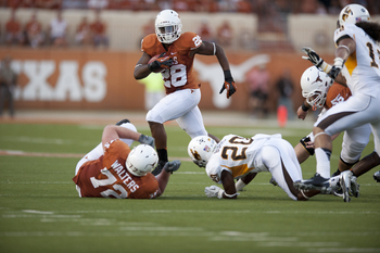Texas running back Malcolm Brown.