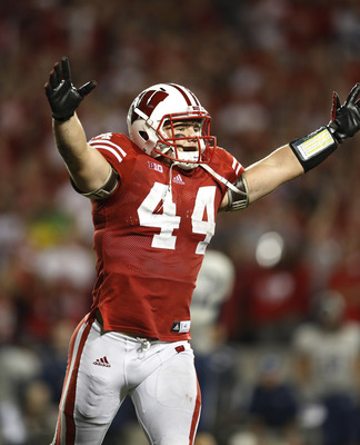 Wisconsin junior linebacker Chris Borland is tied for sixth in the Big Ten in tackles (34) and tied for ninth in the Big Ten in tackles for loss (4.5).