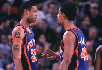 Marcus Camby and Kurt Thomas back in 2000. They're Knicks again.