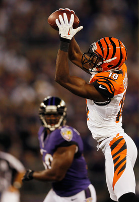 A.J. Green is another young deep ball threat.