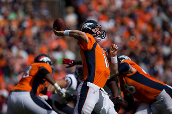 Peyton Manning will improve on No. 20 QB Passer Rating.