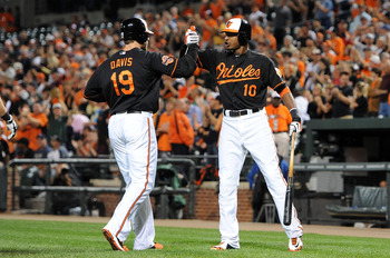 The Orioles have had contributions from everyone, but Adam Jones has been consistently the best