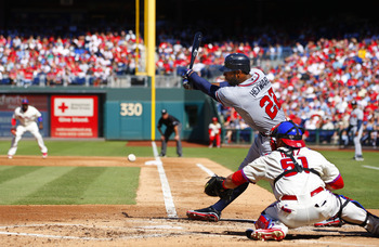 Heyward must avoid bad strikeouts, especially when Uggla and Bourn cannot