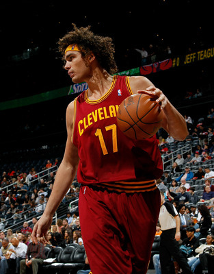 Anderson Varejao is the Cavs' oldest player at the ripe old age of 30.