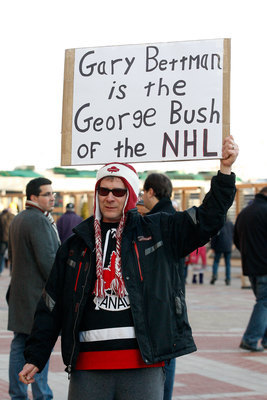 A disgruntled NHL fan.