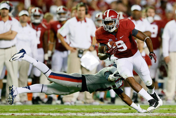 The Crimson Tide continues to run roughshod over the competition.