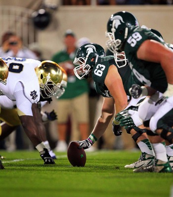 Michigan State will likely be without their starting C for the rest of the season.