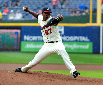 Julio Teheran struggled mightily in 2012.