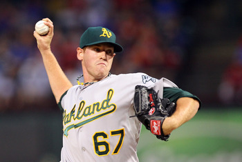 Dan Straily will be a mainstay in the A's rotation in 2013.