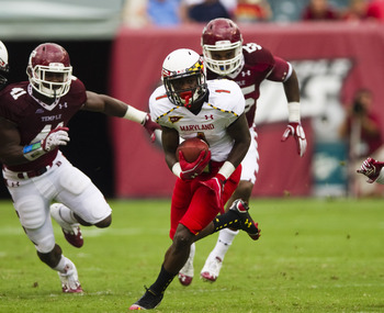 Diggs avoids defender against Temple