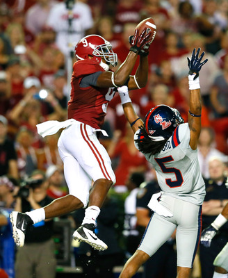 Cooper hauls in a great catch against Ole Miss
