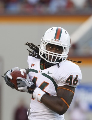 Walford leads Miami Tight Ends with 96 receiving yards through five games.