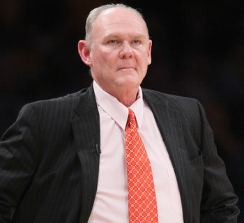 Denver Nuggets Coach George Karl