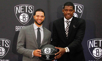 Brookly Nets Deron Williams and Joe Johnson