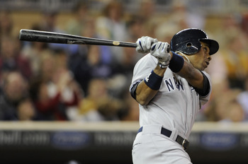 Curtis Granderson leads the Yankees with 40 HRs
