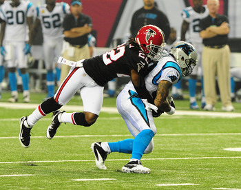Smith's fumble could have cost Carolina the game