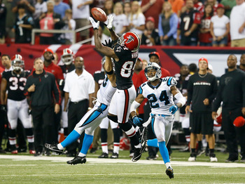 Nakamura allowed a 59-yard pass to Roddy White to get the Falcons rolling