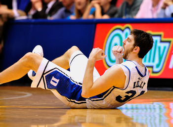 Duke's Ryan Kelly can light it up from outside.