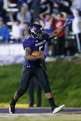 Venric Mark is having a breakout season for the Northwestern Wildcats.