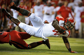 Montee Ball and the Wisconsin Badgers have struggled through their first five games.