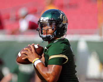 B.J. Daniels was capable, but lost the game for USF.