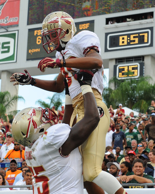 Rashad Greene made FSU history in the first quarter.