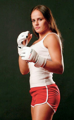 Couldn't find a picture of both, but believe me Carina is better looking/MMAweekly