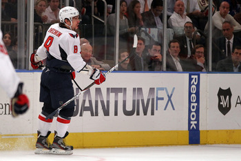 Alex Ovechkin only scored 65 points last season.