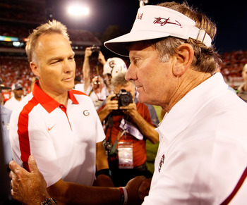 Mark Richt and Steve Spurrier