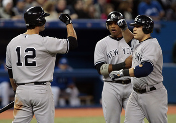 Russell Martin and the Yankees are all fired up following their huge comeback win yesterday in Toronto.