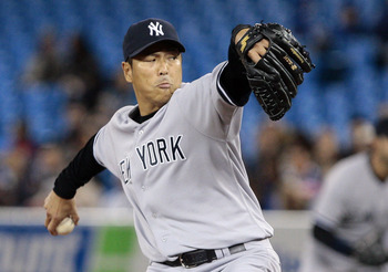 Hiroki Kuroda may have the chance to pitch the Yankees to a division title on Wednesday night.