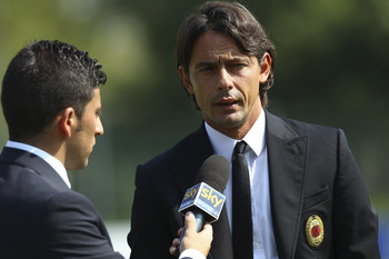 Inzaghi's already got himself in the spotlight during his very short coaching career