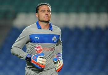 Harper has been a great servant for Newcastle and made some fine saves to keep them in the game on Saturday.