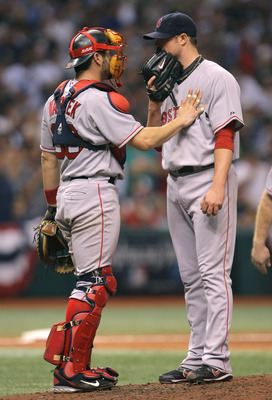 Varitek was a part of Lester's booming success early in his career