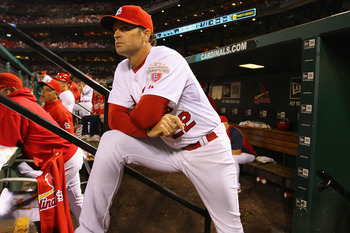 Cards manager Mike Matheny justified his appointment in his first season in the dugout.