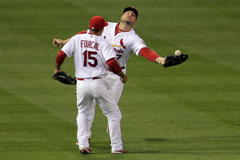 Matt Holliday has made even routine fly balls interesting this year.