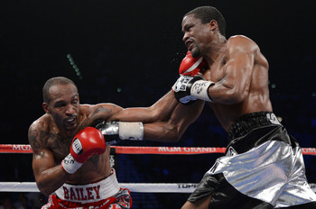 Bailey stunned the boxing world with his knockout of Mike Jones on the Pacquiao-Bradley undercard.