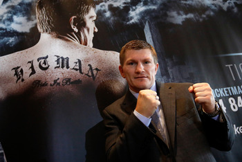 Ricky Hatton deserves credit for taking a tough first comeback fight.