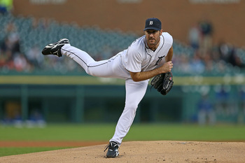 Verlander dealing against the Royals Sept. 24.