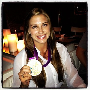 Image via @alexmorgan13