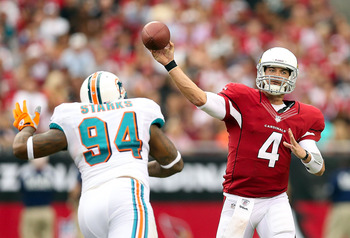 Kevin Kolb has helped the Cardinals start out 4-0 in 2012.