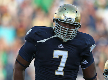 Stephon Tuitt has been a nightmare for every quarterback the Irish have faced.