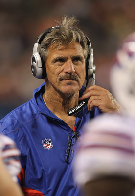 Dave Wannstedt's unit fell apart in the 4th quarter Sunday.